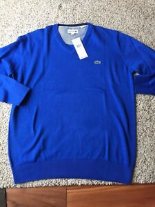 NWT men's Lacoste sweater