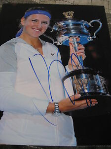 VICTORIA-AZARENKA-SIGNED-AUTOGRAPH-8x10-PHOTO-AUSTRALIAN-OPEN-CHAMP-IN-PERSON-D