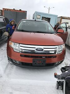 2008 FORD EDGE MINT ORANGE LEATHER $8900 CASH!