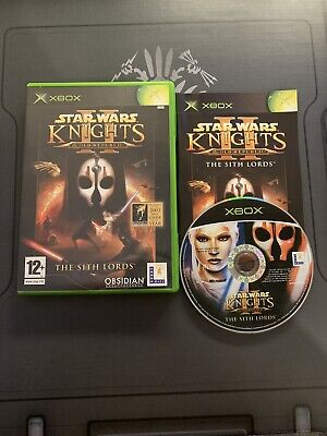 Star Wars Knights Of The Old Republic 2 - Xbox *DISC IS MINT*