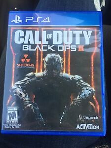 PS4 black ops 3 mint condition