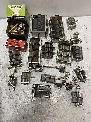 Huge Lot Vintage Tuning Air Condensers Variable Capacitors - Diy Nice Parts
