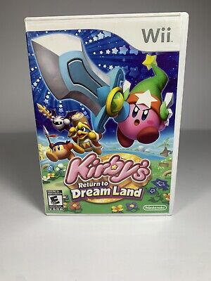 Kirby's Return to Dream Land (Nintendo Wii, 2011) Tested GREAT!