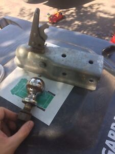 """2"""" Reese hitch and trailer mount"""