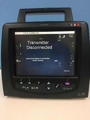 Philips Telemon B M2636b Patient Monitor Tested For Power