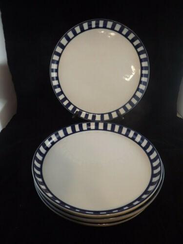 Dansk Arabesque / Spokes Coupe Dinner Plates- Set of 4