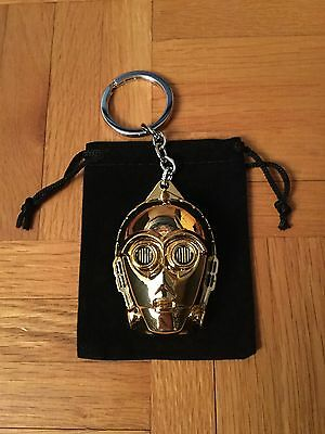 Star Wars C-3PO - Z-6PO Gold Face Mask Keychain for sale  Canada