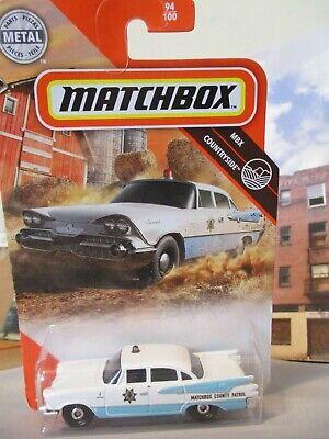 Matchbox Countryside Series 1959 Dodge Coronet Police Car  1/64 diecast