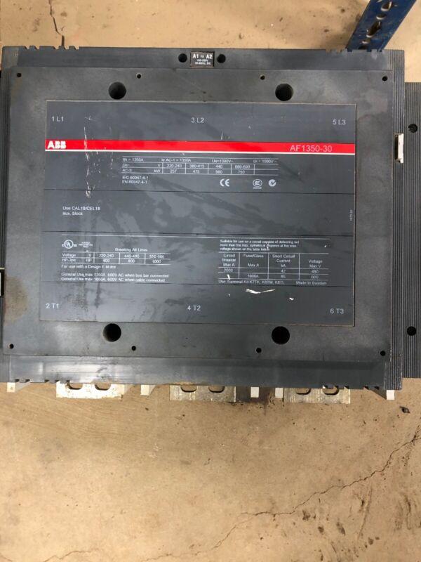 ABB AF1350-30-01E-70 Contactor