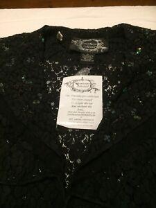 dreamkeeper Top /jacket Black Size XL BNWT