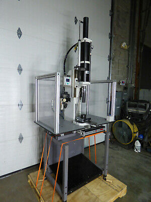Schmidt Pneumatic Press 2800 Lbs 7.9 Stroke Digiforce 9310 Factory Stand Sharp