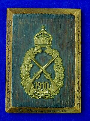 Imperial German Germany Pre WW1 Antique Shooting Award Badge Military Decor