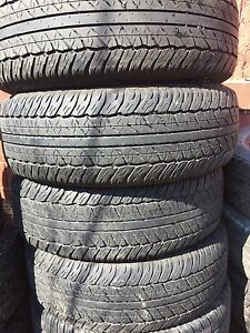 4 Dunlop 265/65/17 all season installation available