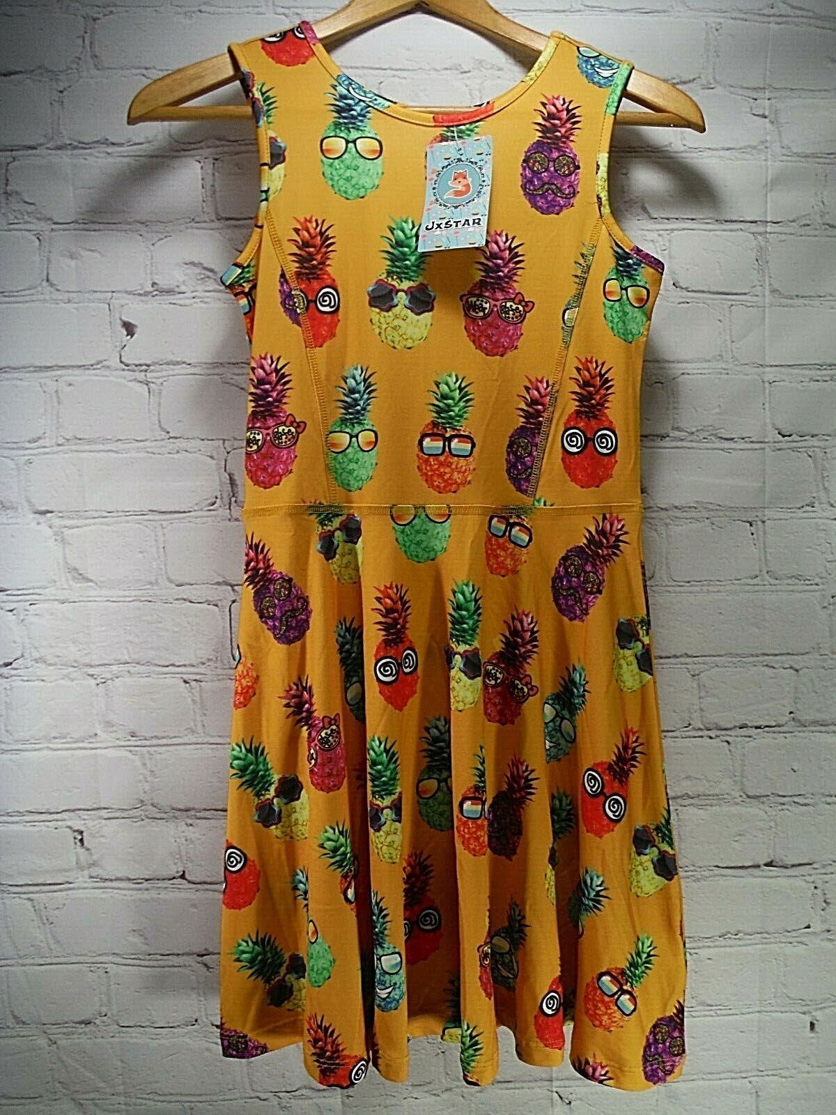 nwt s party pineapple swing dress girls