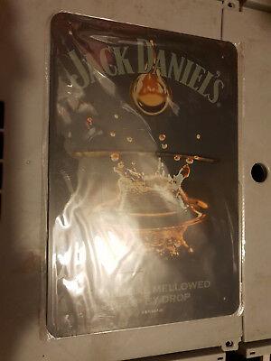 cooles Jack Daniels-Blechschild, ca 30x20cm, Neu & OVP