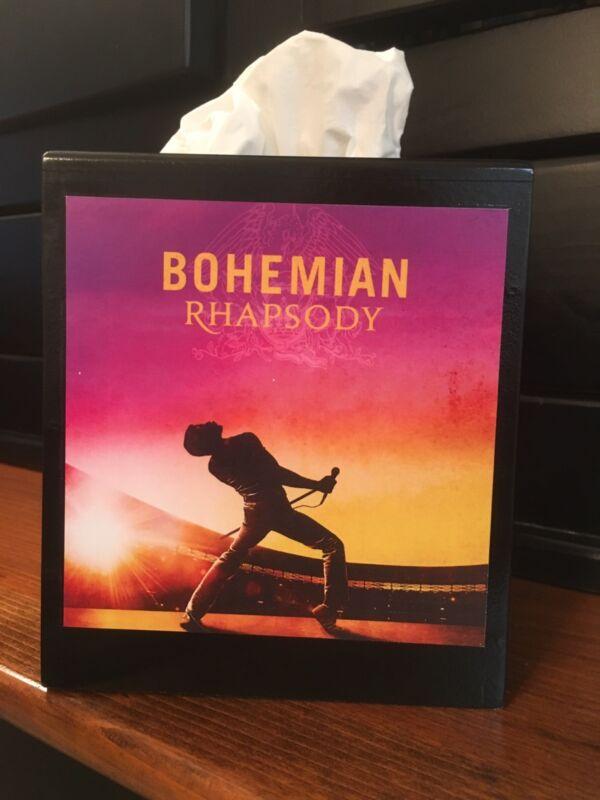 QUEEN,FREDDY MERCURY, BOHEMIAN RAPSODY Tissue Box Cover