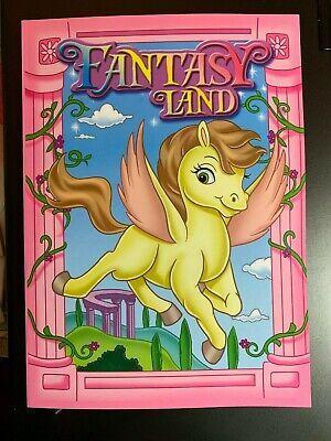 PEGASUS FANTASY LAND COLORING & ACTIVITY BOOK CHILDREN KIDS NEW UNICORN FRIENDS! - Kids Activity Book