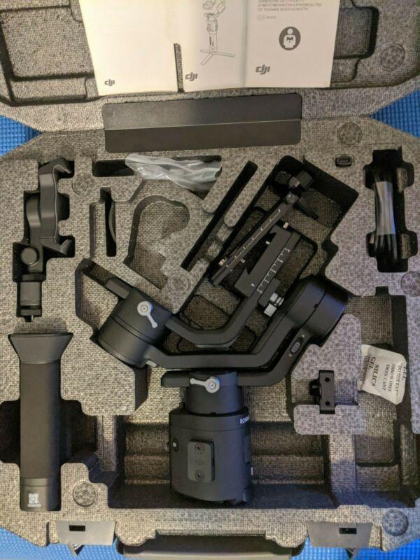 DJI - Ronin-SC 3-Axis Stabilizer - Black