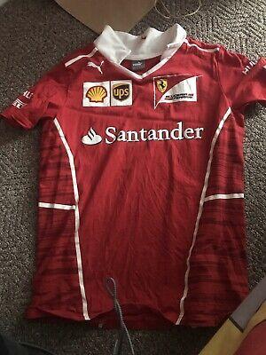Ferrari T Shirt Size 13 To 14 Years Uk