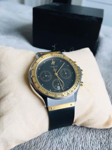 Hublot – MDM Geneve Chronograph Watch. Football Memorabilia Collectors Item - watch picture 1