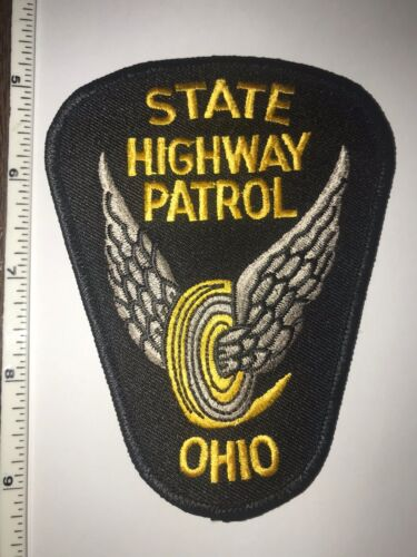 Ohio State Highway Patrol Police Shoulder Patch New