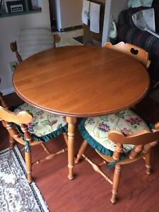 Roxton Solid Wood Dining Table