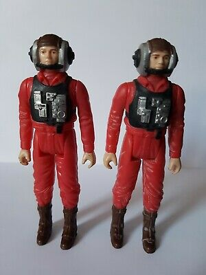 Star Wars Vintage Figures - B-Wing Pilots x 2 (ARMY BUILDERS)
