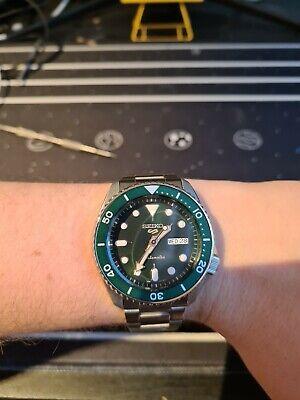 Seiko 5 Sports Green Men's Watch - SRPD63