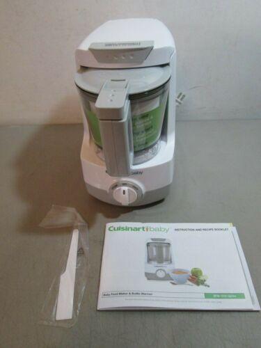 Cuisinart BFM-1000 Baby Food Maker and Bottle Warmer White