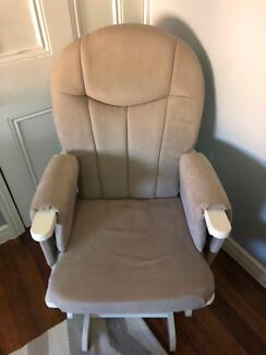 Baby Glider Nursing Chair with Ottoman