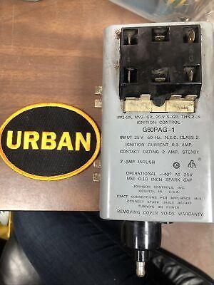 Johnson Controls G60pag-1 Intermittent Pilot Ignition Control