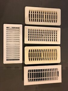 White Furnace vent registers / covers