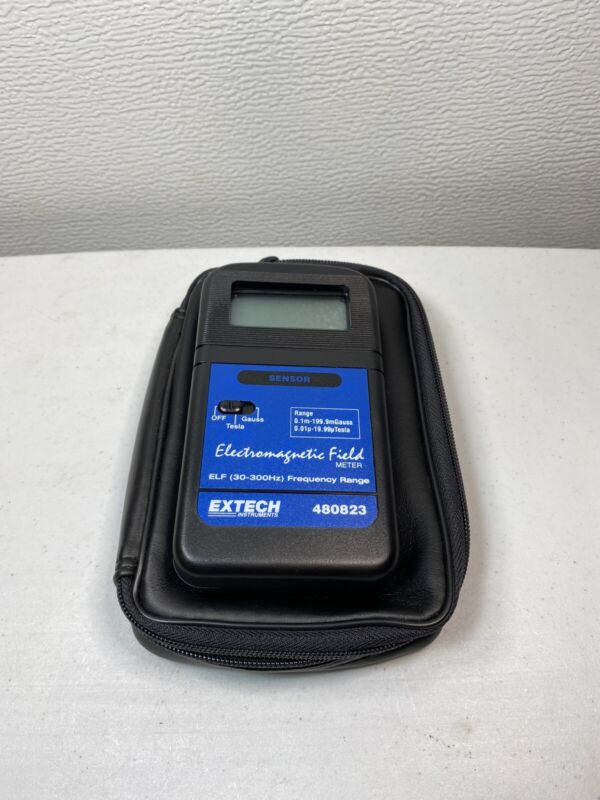 Extech Instruments Electromagnetic Field ELF 30-300Hz Frequency Range 480823