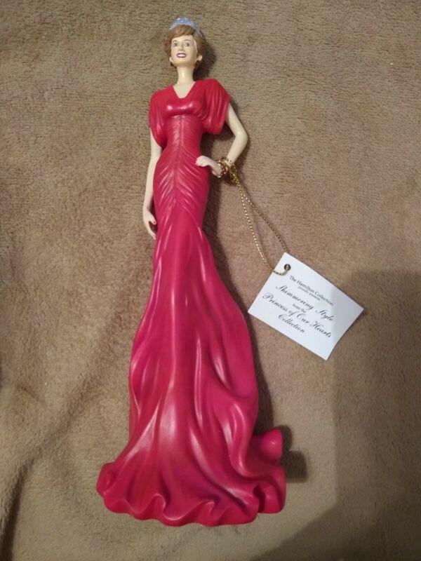 Princess Of Our Hearts Princess Diana Hamilton Collection Figurine Collectible