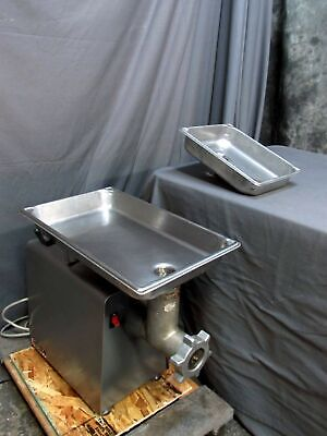 Univex Mg8912 Meat Grinderfood Grinder With Two Pans