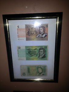 3 notes in frame lot Macleod Banyule Area Preview