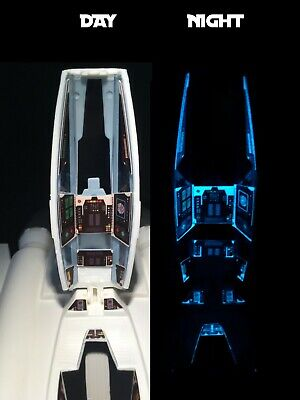 Star Fighter 23 ULTIMATE GLOW COCKPIT STICKER Buck Rogers Dille Mego Custom