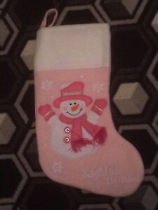 FS:  Baby's 1st Christmas stocking