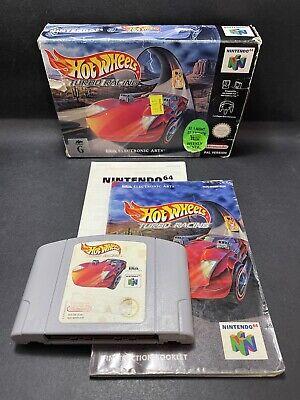 N64 Nintendo 64 Game - Hot Wheels: Turbo Racing [Boxed] - PAL