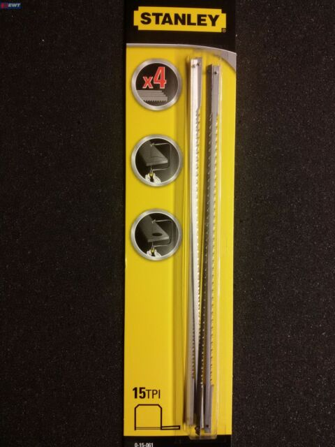 Stanley 0-15-061 Ersatzblatt für Dekupiersäge FatMax 4Stck 160mm 0-15-106 15-061