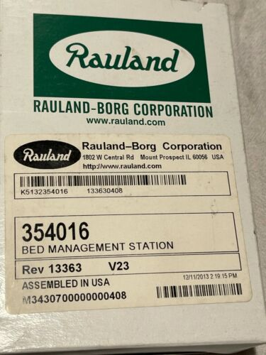 Rauland 354016 Bed Mangement Station