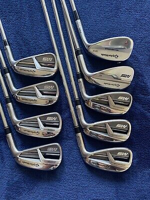 TaylorMade M5 Irons 4-AW and 56* TT XP Reg Flex Steel R300 Excellent!!!
