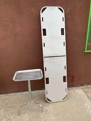 Ferno 60 Aluminum Backboard Folding Stretcher Spine Board Emergency Medic
