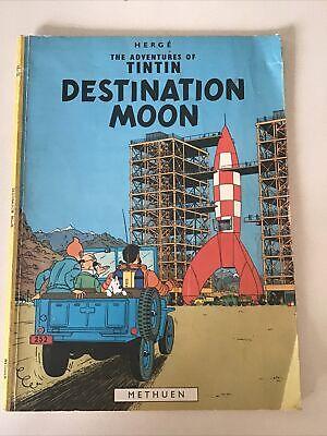 The Adventures Of Tintin - Destination Moon PB 1975