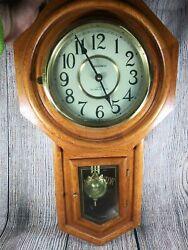 Classic manor quartz regulator westminster chime wall clock