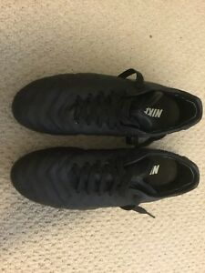 Nike Tiempo Black-Out soccer cleats