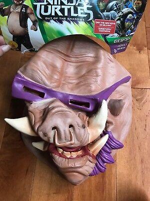 Adult TMNT 3/4 Bebop Pig Vinyl Mask Halloween Party Teenage Mutant Ninja Turtles (Teenage Halloween Party)