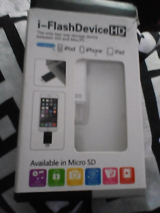 I -Flash Debive HD only 2 way storage between ios,&mac/pc Coomera Gold Coast North Preview