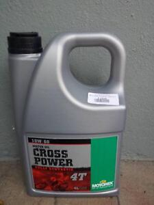 NEW 4L Motorex crosspower full synthetic dirt bike 4T engine oil Artarmon Willoughby Area Preview