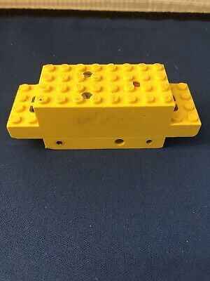 Lego Vintage 1970's Powered Vehicle Chassis Electric Yellow Box